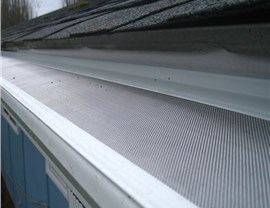 Siding Gutter Protection Photo 4