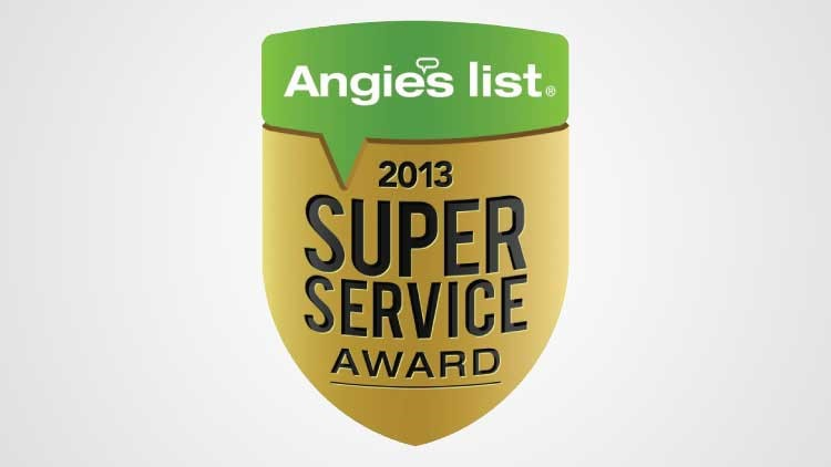 "Angie's List ""Super Service Award"" Winner"