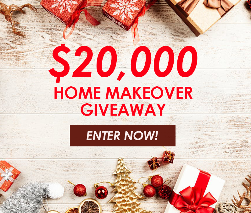 Enter to Win a $20,000 Home Makeover!