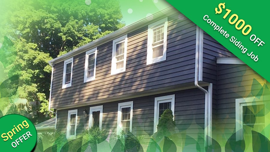 Save $1,000 off Your Next Siding Job