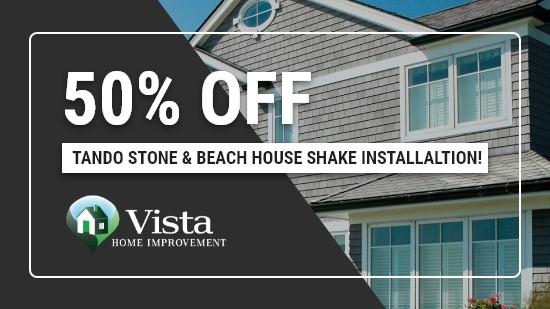 50% Off Beach House Shake Installation