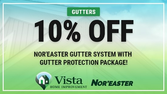 10% Off Nor'Easter Gutter System!