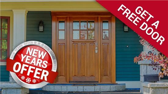 FREE STORM DOOR WITH ENTRY DOOR PURCHASE!