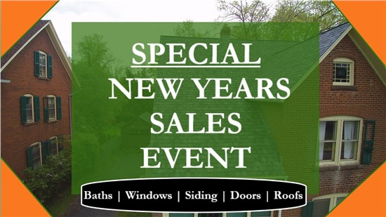 New Year, New Savings With Vista Home Improvement!