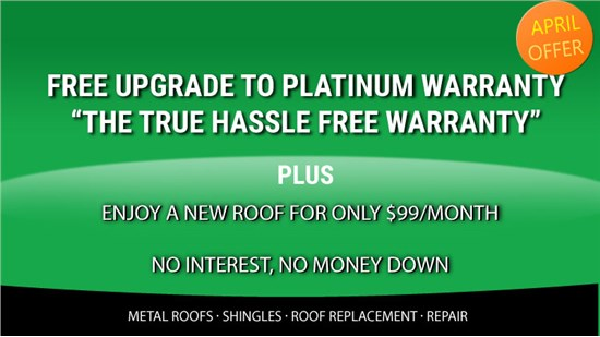 Free Upgrade to Platinum Preferred Warranty For Only $99/Month!