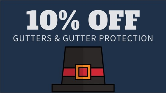 10% Off Gutters &Gutter  Protection