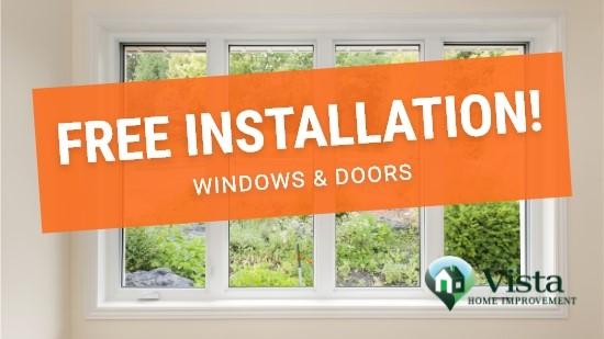 Free Window and Door Installation