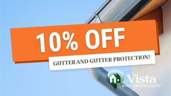 10% Off Gutters & Gutter Protection