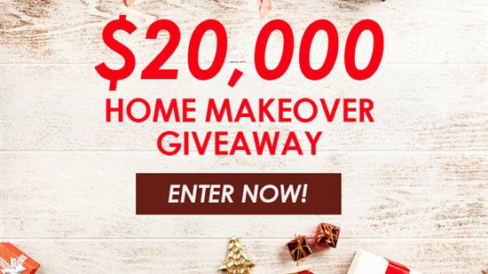 Enter to Win a $20,000 Home Makeover!