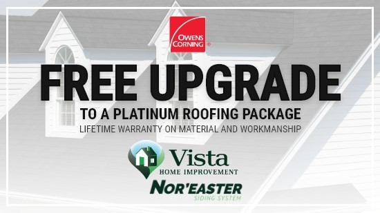 Free Upgrade to a Platinum Roofing Package!