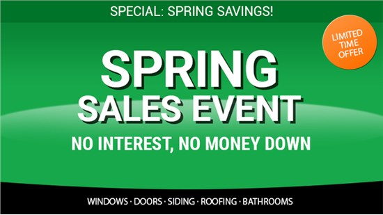 Spring Sales Event- Biggest Sales of the Year!