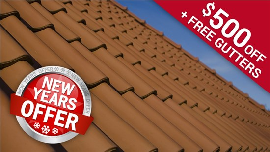 New Years Offer for Roofs