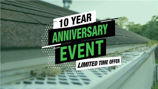 10% Off Gutters and Gutter Protection