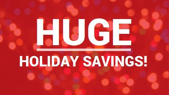 HOLIDAY SEASON SPECIAL OFFERS!