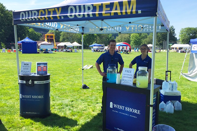 West Shore Attends & Donates To The 16th Annual Riverview Relay for Life Event