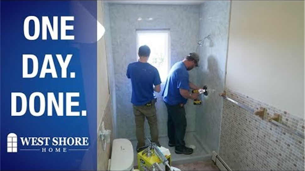 One Day Bath Remodel Pittsburgh