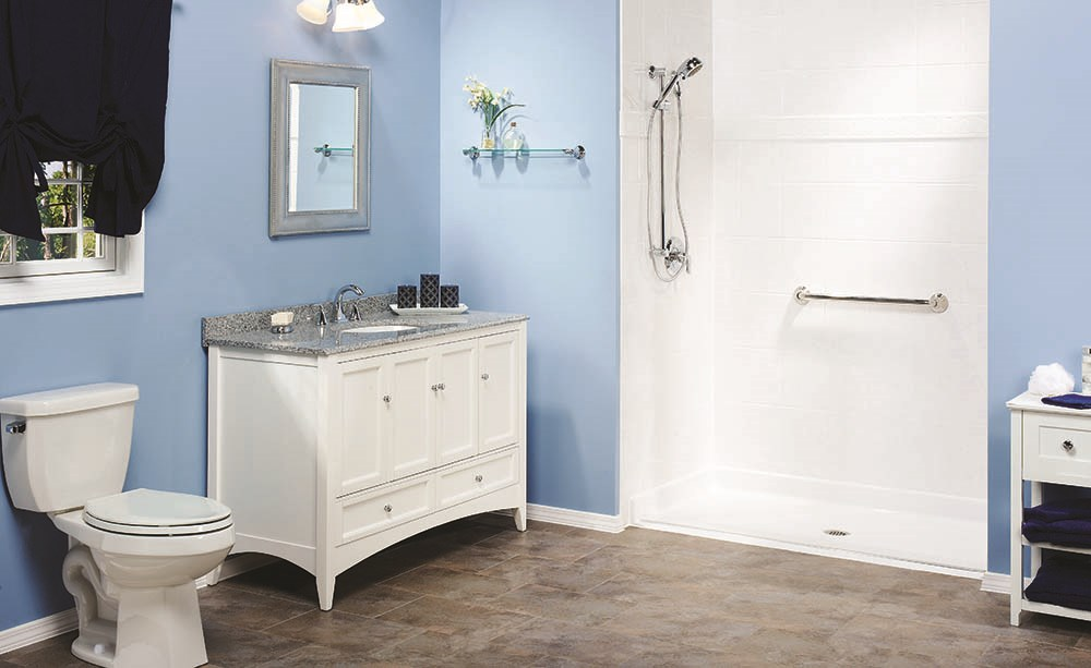 Shower replacement bathroom remodeling west shore for Bathroom remodel quad cities