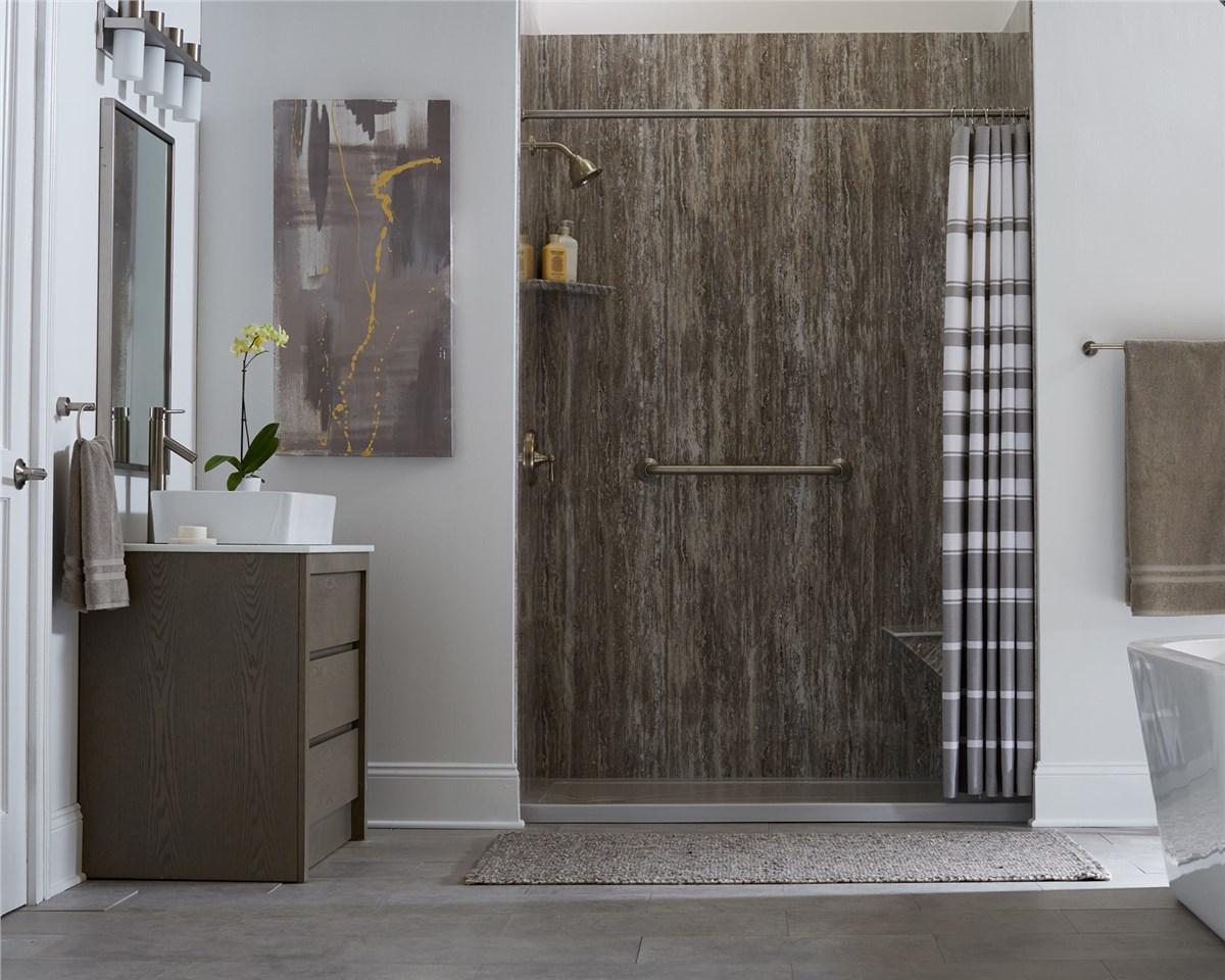 Bathtub Wall Surrounds Tampa Bay Bathroom Remodeling West Shore - Bathroom remodel brandon fl