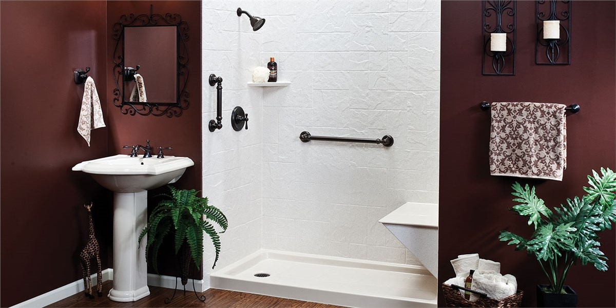 Tub to shower conversion bathroom remodeling west shore - Pittsburgh bathroom remodeling contractors ...