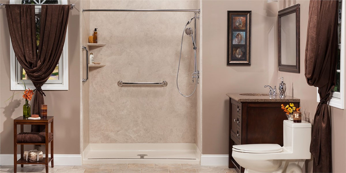 Shower Inserts Bathroom Remodeling