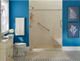 Bathroom Remodeling-Tub to Shower Conversions Photo 2