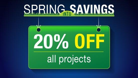 Spring Into Savings - Windows