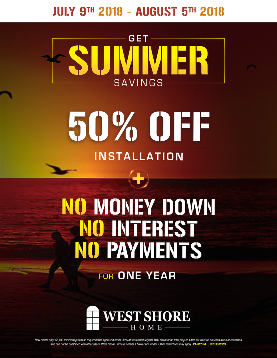 GET SUMMER SAVINGS
