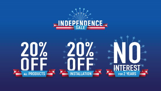 Independence Sale Event