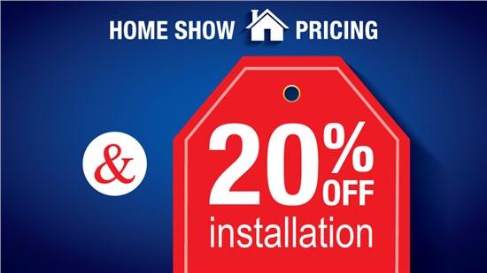 Home Show Pricing Door Special!