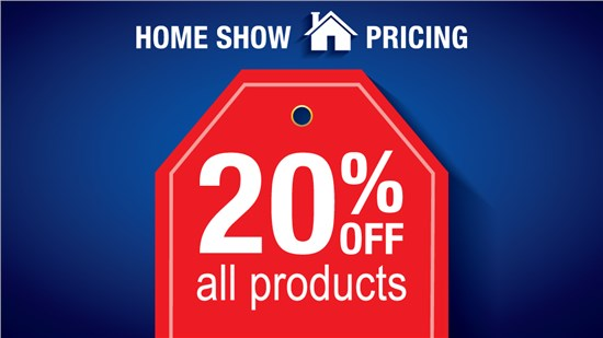 Home Show Pricing Window Special!