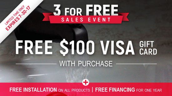 3 For Free Sales Event - Baths