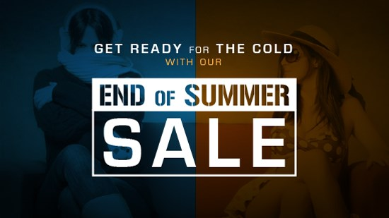 End of Summer Sale!
