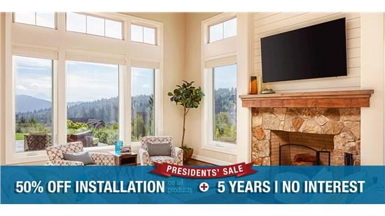 Presidents' Sale Window Special