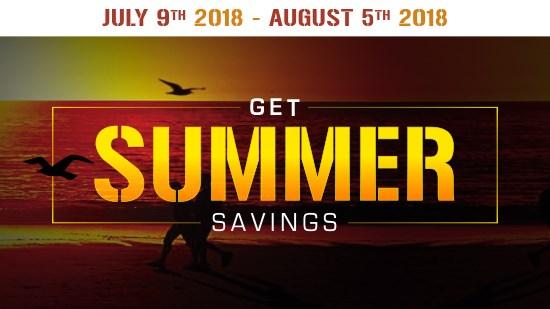 Get Summer Savings | Baths