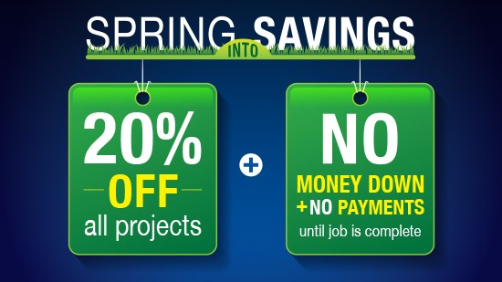 Spring into Savings - Baths