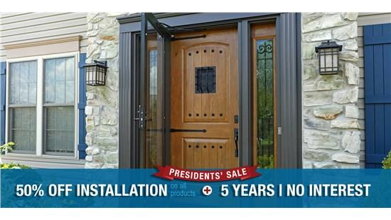 Presidents' Sale Door Special!