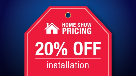 Home Show Pricing - Windows