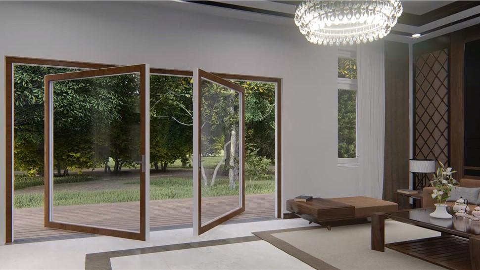Glass Wall Styles Video S.22 Pivot Photo 1