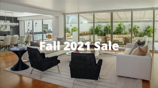 Fall 2021 Sale