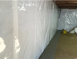 Basement Health Systems - Breathable Wall Encapsulation Photo 4