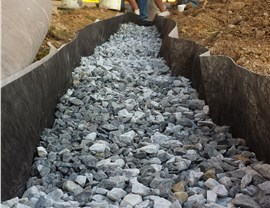 Basement Waterproofing - French Drains Photo 4