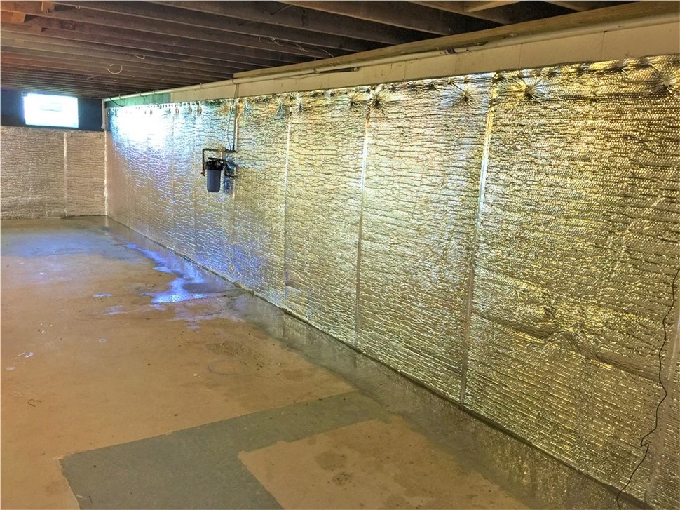 New Years Savings: 10% Off Basement Waterproofing Solutions
