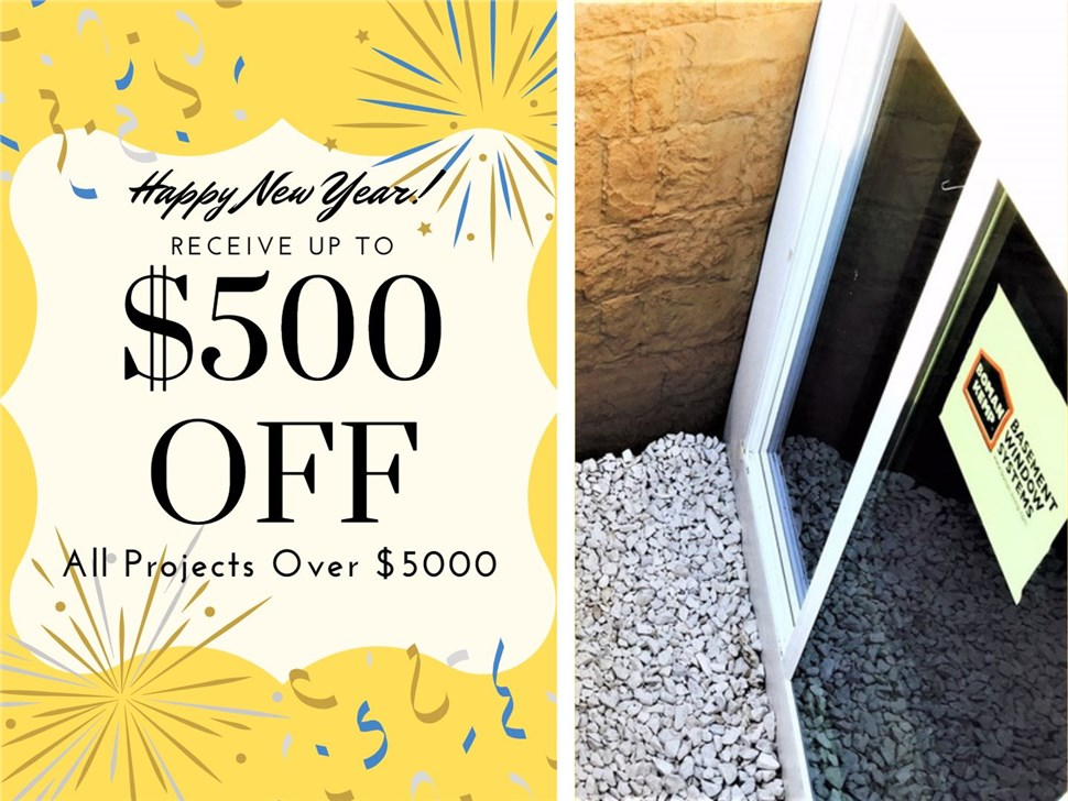 Save $500 off any Project over $5000