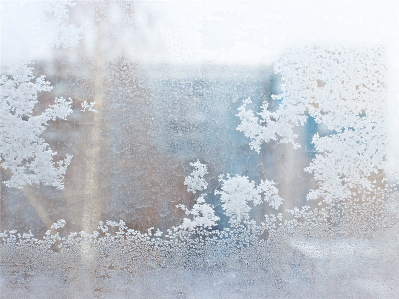What Does it Mean if My Windows are Frosting Up?