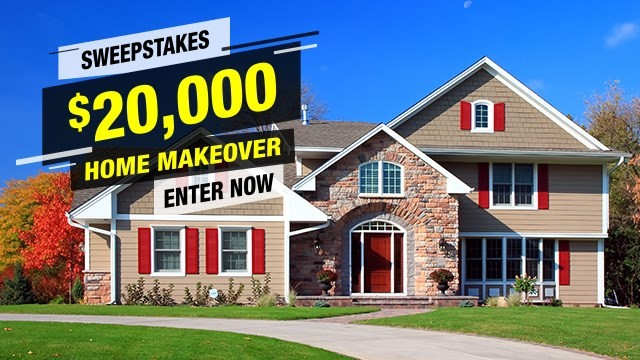Enter Now! Win a $20,000 Home Makeover!