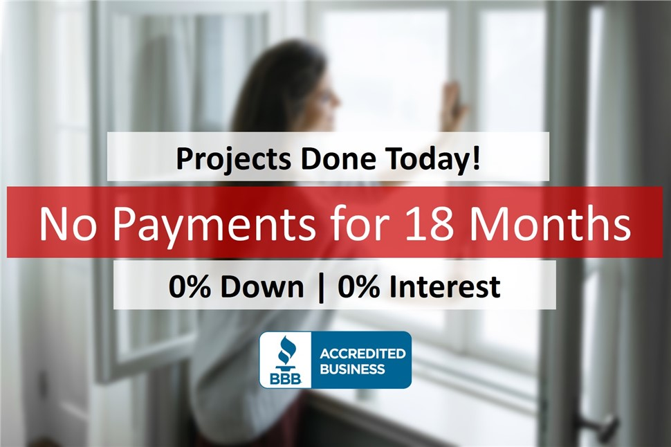 Projects Done Today, Don't Pay for 18 Months!