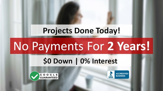 Projects Done Today, Don't Pay for 2 Years!