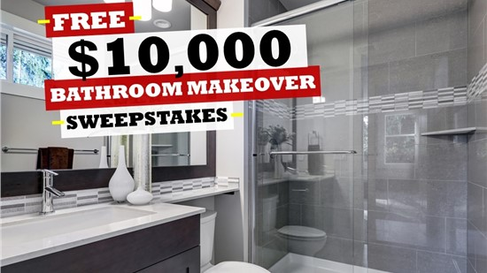 Enter Right Now to Win a $10,000 Bath Makeover!